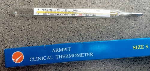 Armpit Thermometer
